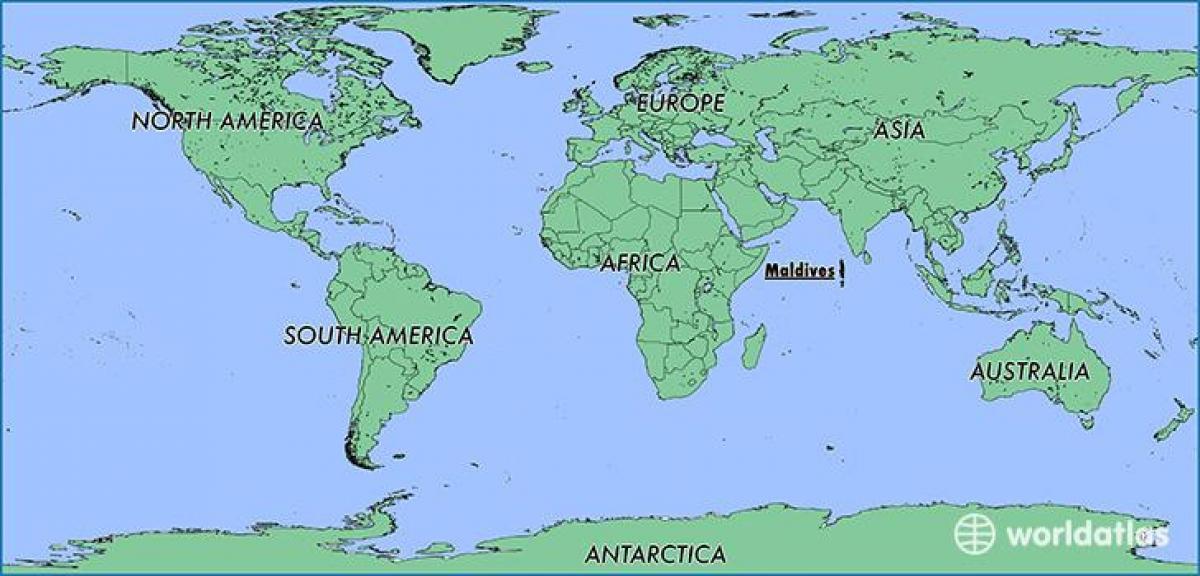 جزر المالديف خريطة الموقع خريطة جزر المالديف البلدان المجاورة جنوب آسيا آسيا